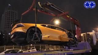 Машина чиновника устроила аварию на 100 миллионов