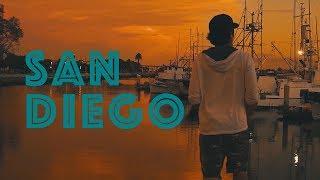 SAN DIEGO | MY CALI TRIP 2018 | A TRAVEL VIDEO (Sony a6000) | MAJOR LAZER, JUSTIN BIEBER COLD WATER