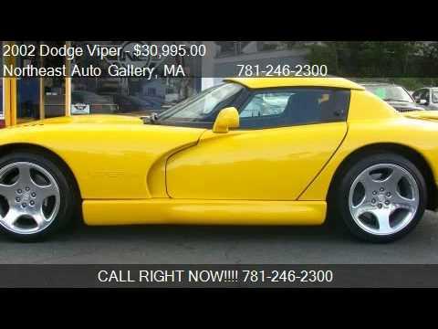 2002 Dodge Viper Rt10 For Sale In Wakefield Ma Ma 01880 Youtube