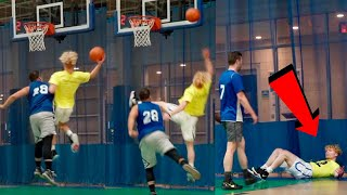 Old Man SHOVED Me! Men's Basketball League! (Episode 4)
