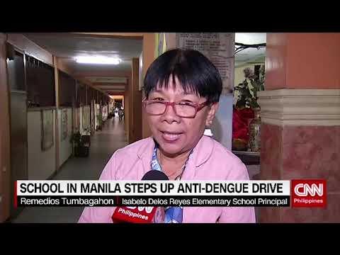 School in Manila steps up anti-dengue drive