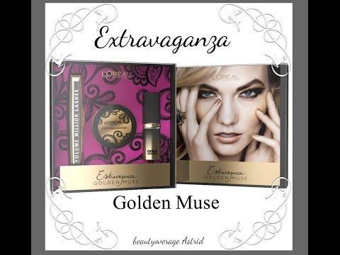 LORÈAL | Makeup tutorial | extravaganza golden muse | make up tutorial | beautyoverage Astrid