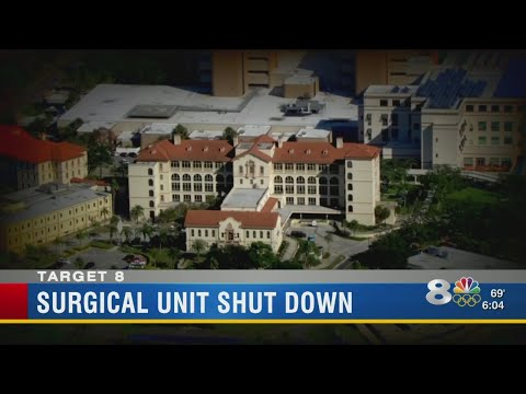Surgical unit shut down at VA's Bay Pines