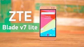 видео Обзор ZTE Blade V7 Lite