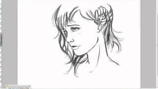 apprendre a dessiner visage de profil