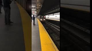 New York, New York - 1 Train Arrives at WTC Cortlandt Street (Boomerang) (2018)