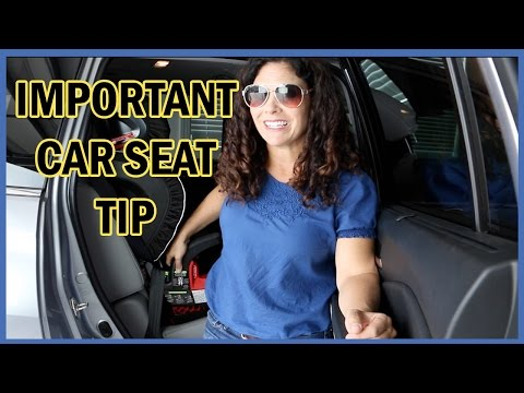 IMPORTANT CAR SEAT REMINDER!