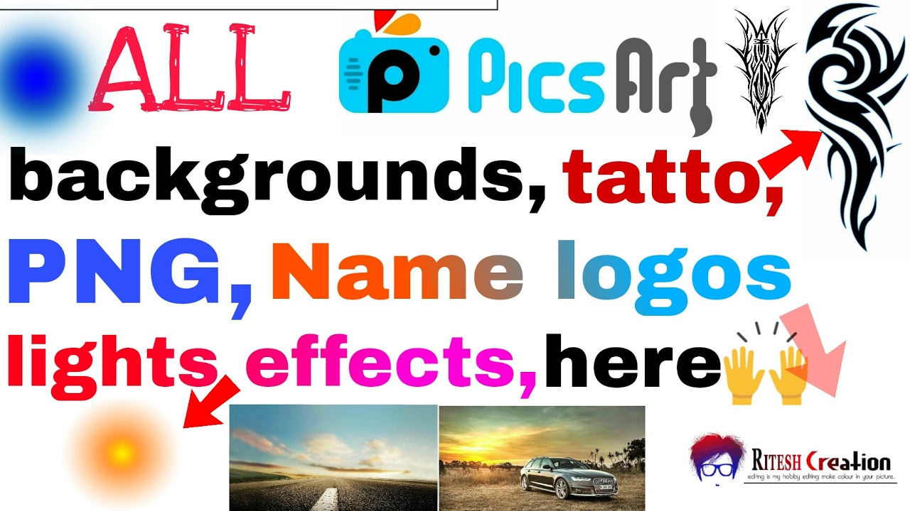 Download All Picsart Material Download Backgrounds Download Tatto