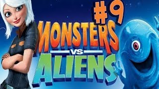 Monsters vs. Aliens - Walkthrough - Part 9 - Under Attack (PC) [HD]