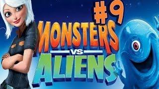 Monsters vs. Aliens - Walkthrough - Part 9 - Under Attack (PC) [HD]