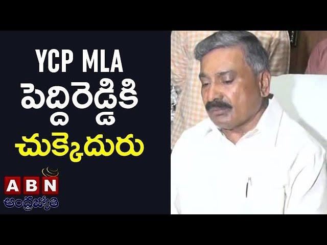 సుప్రీం కోర్టులో ఎదురు దెబ్బ   Supreme Court Gives Shock To YCP MLA Peddireddy   ABN Telugu