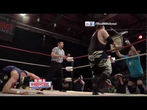 El Ridiculoso Vs Mikey O'Shea - NWA Hollywood (5/20/12)