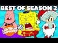 SpongeBob Season 2 Recap of the BEST Moments Ever! 🌟 Nickelodeon Cartoon Universe