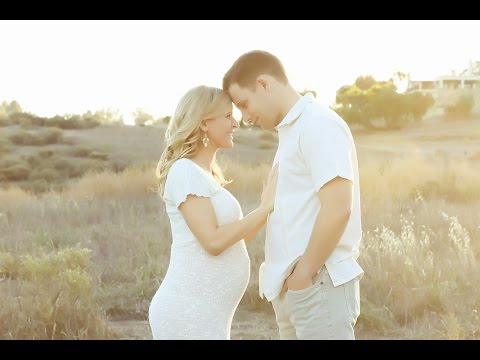 Natural Light Pregnancy Couple Session With Just Pure
