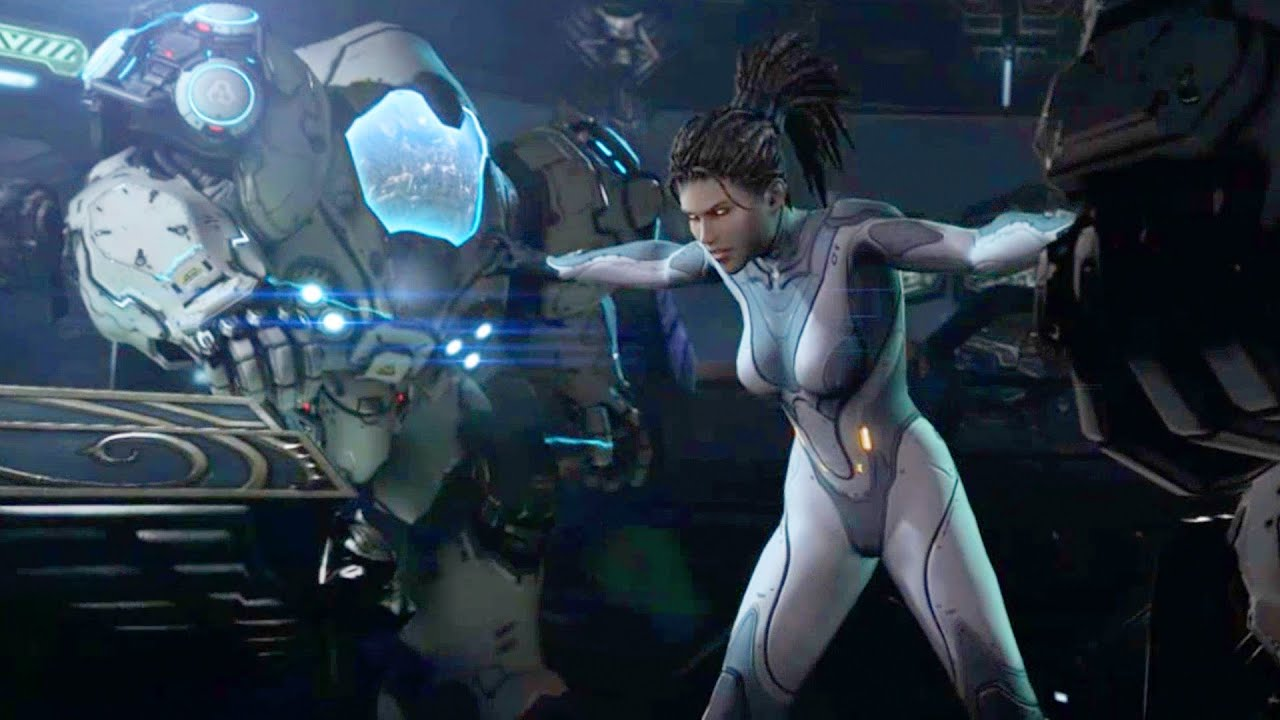 Close Up Girl Wallpaper Kerrigan Goes Mad On Hyperion Starcraft 2 Heart Of The