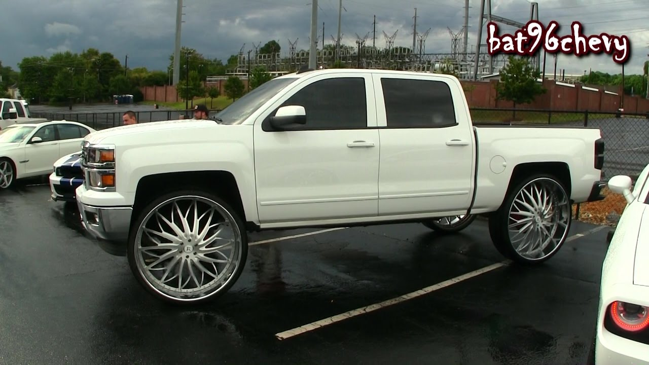 "2015 Chevy Silverado 1500 Z71 Truck on 34"" Rucci Forged ..."