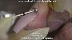 How to: Cuticle Work with Nail Bits Only | April Ryan | Red Iguana