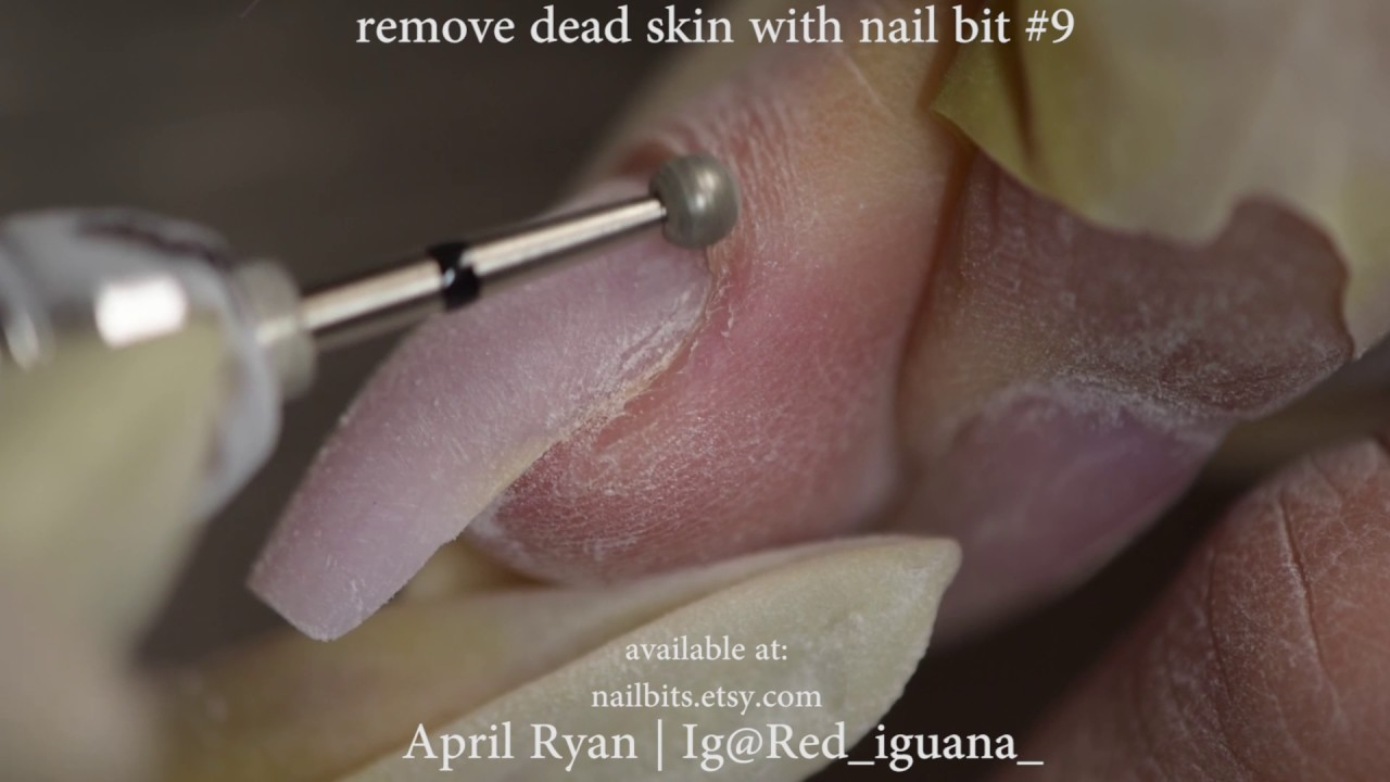 How to: Cuticle Work with Nail Bits Only | April Ryan | Red Iguana ...