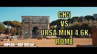 GH5 vs Ursa mini 4.6k
