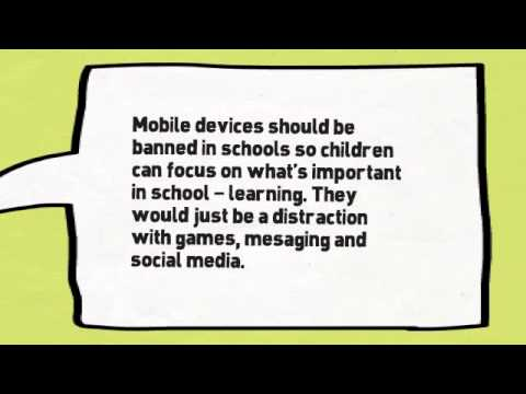 Left mobile phones should not be banned in schools debate browser