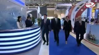 Президент Азербайджана Ильхам Алиев принял участие в открытии выставки «Нефть и газ Каспия-2017»