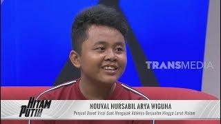 Nouval, Penjual Donat Viral Mengajak Adiknya  Berjualan   HITAM PUTIH (13/12/19) Part 2