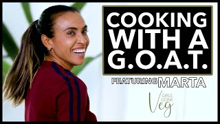 Cooking With A GOAT: Girls Gone Veg w/Marta | I AM ATHLETE