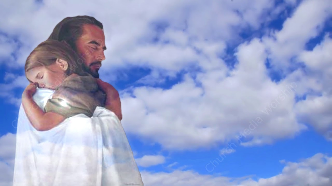 Jesus Hugging a Child slower Christian Worship Loop Video - YouTube