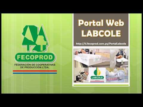 Tutorial de Uso Portal Labcole Para Productores