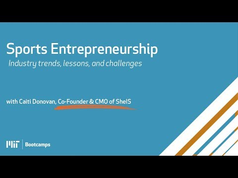 Sports Entrepreneurship: Industry Trends, Lessons, and Challenges