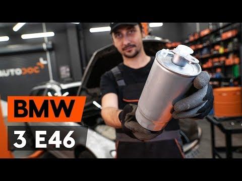 Jak Vyměnit Palivový Filtr Na BMW 3 (E46) [NÁVOD AUTODOC]