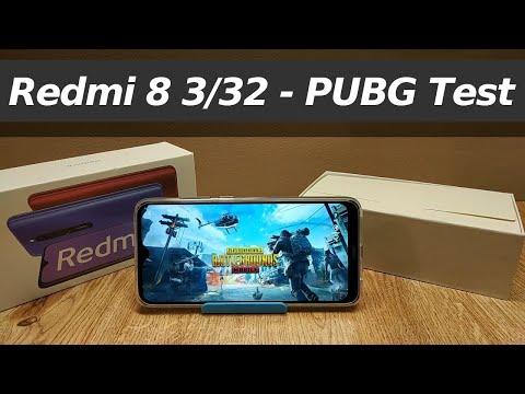 Redmi 8 PUBG 3/32 (SMOOTH DETAILS) ★ Snapdragon 439 PUBG Test