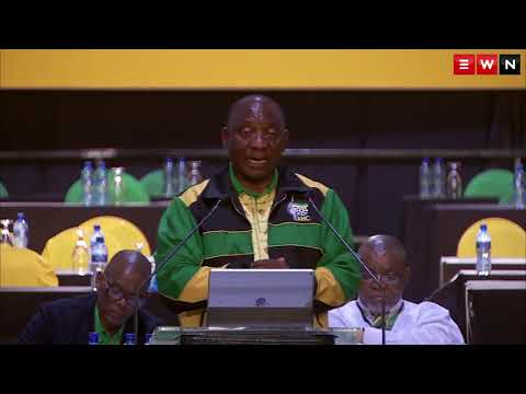 Cyril Ramaphosa's first address as ANC President