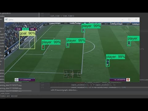 Deep Neural Networks playing FIFA 18