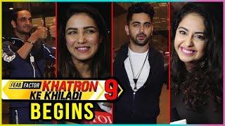 Khatron Ke Khiladi 9 Contestants Leave For Shoot | Zain Imam, Jasmin Bhsin, Avika Gor, Vikas Gupta