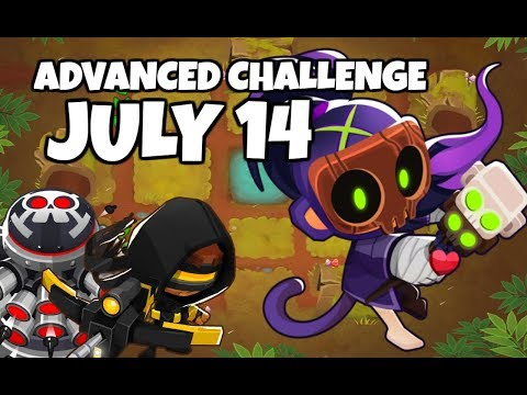 BTD6 Advanced Challenge - Only One Tier 5 - July 14 2019