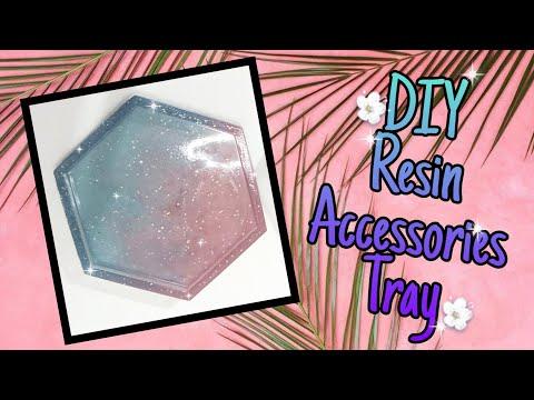 DIY Resin Accessories Tray ♥