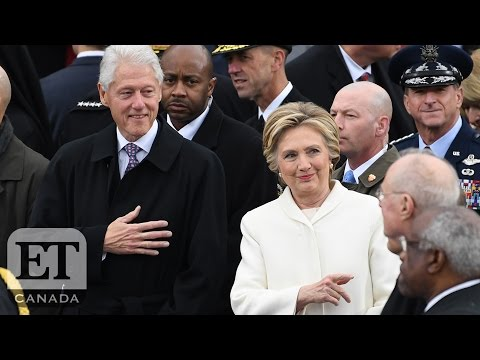 Hillary Clinton Attends Trump Inauguration