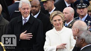 Hillary Clinton Attends Trump Inauguration