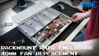 Silencing My 1U Rackmount RAID Enclosure IMNC