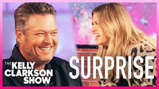 Blake Shelton Surprises Kelly With Her Worst Nightmare