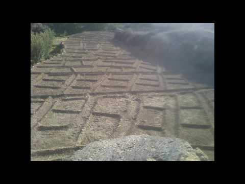 Géométrie des champs agricoles du Safran, Anti Atlas Centrale, Ait  Tigga Siroua