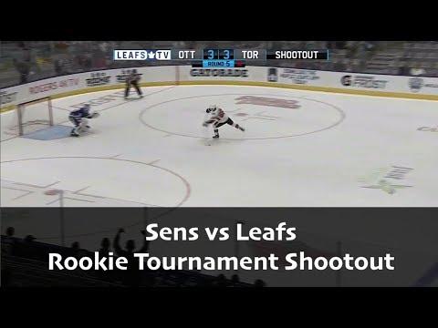 Sens vs Leafs - Rookie Tournament Shootout - September 2017