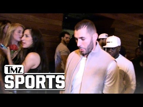 Rihanna -- Pulls Hat Trick with Karim Benzema ... 3rd Late Night Together