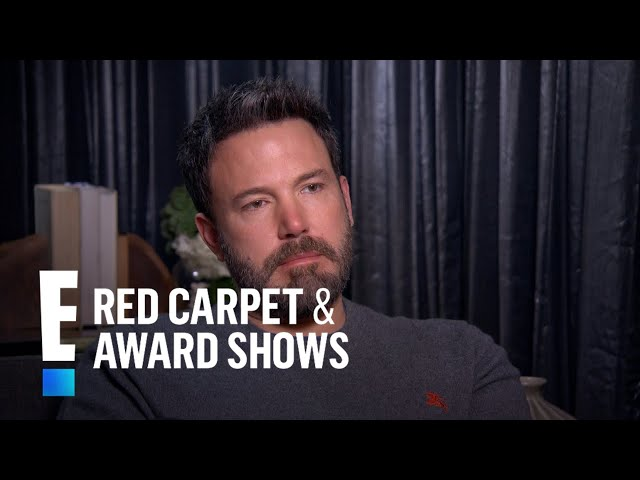 Ben Affleck Talks World Champion Sex Scenes With Sienna Miller | E! Red Carpet & Award Shows
