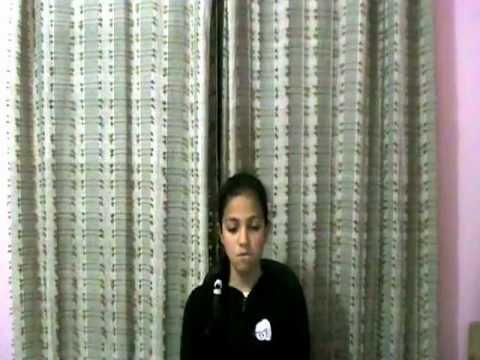 Sanvi singing