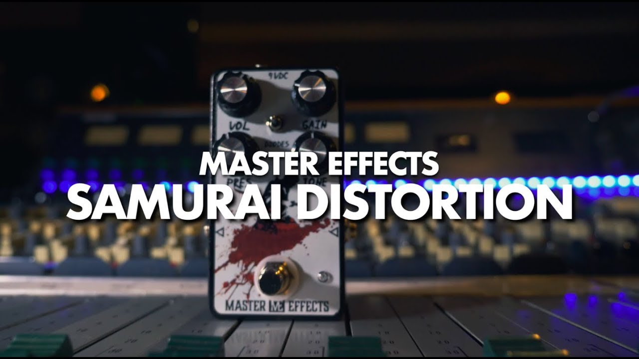 Master Effects Samurai Distortion    Demo    NoiseGenerator