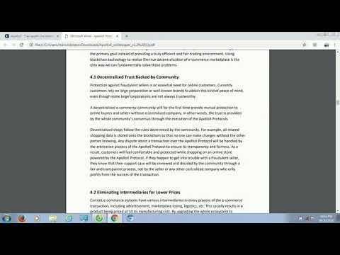 Apollox ICO - Phân Tích Và Đánh Giá Whitepaper