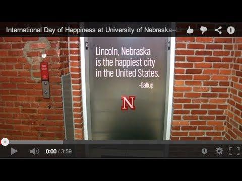 International Day of Happiness at University of Nebraska-Lincoln