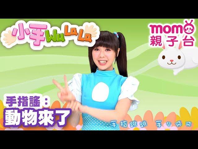 momo親子台 |【動物來了】小手WuLaLa S2 EP12【官方HD完整版】第二季 第12集~甜甜姐姐帶著大家一起玩手指搖